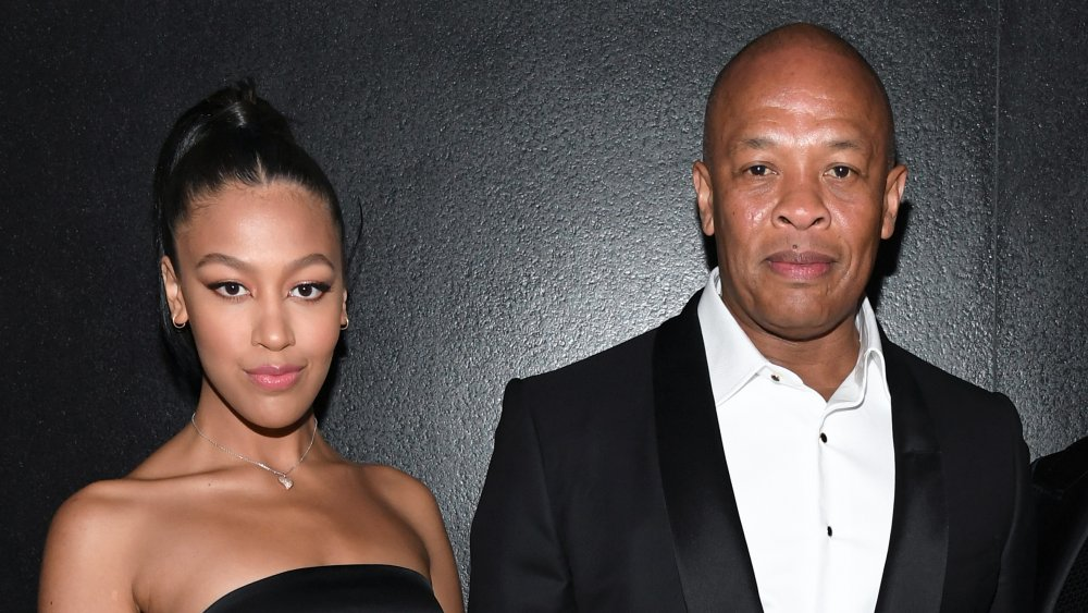 Truly Young with dad Dr. Dre
