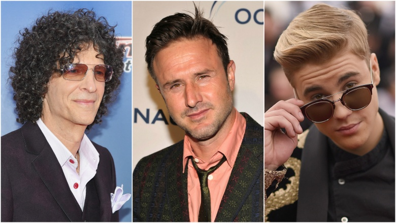 Howard Stern David Arquette Justin Bieber