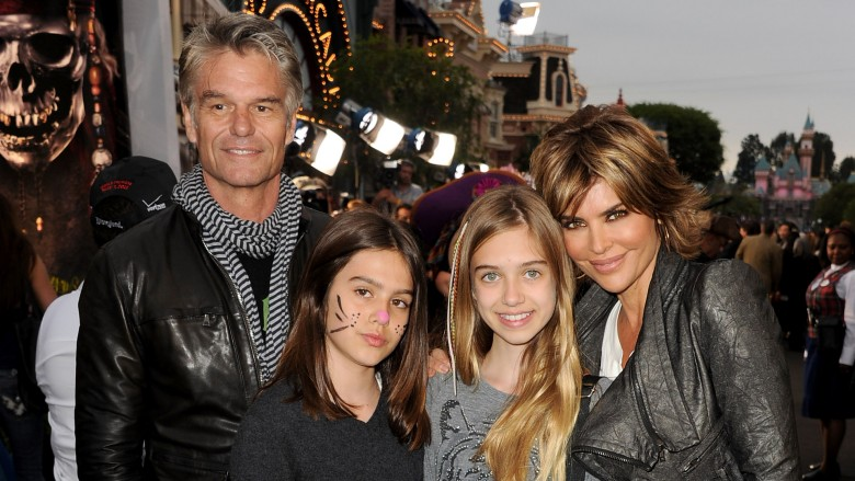 Who are Lisa Rinna's model daughters?