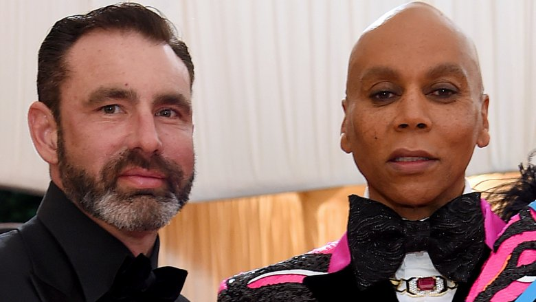 Who is RuPaul's husband and how did they meet?