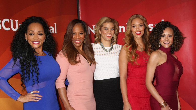 Real Housewives of Potomac at the NBCUniversal Cable TCA Press Day Winter 2016