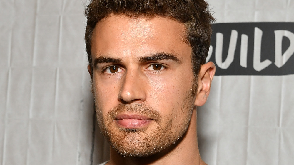 Theo James on a red carpet