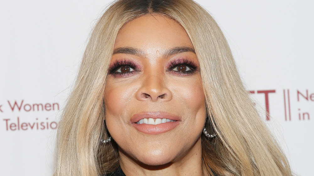 Wendy Williams poses