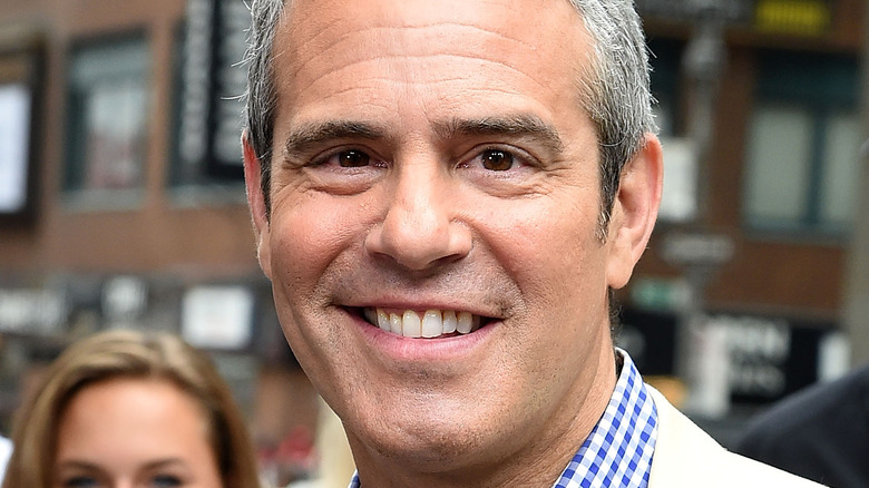 Andy Cohen smiling