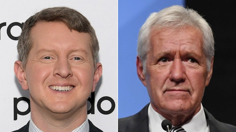 Ken Jennings, Alex Trebek