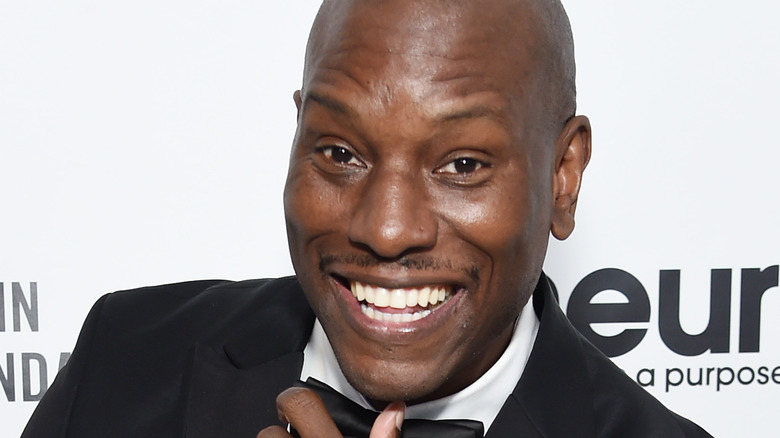 Tyrese Gibson smiling at an event