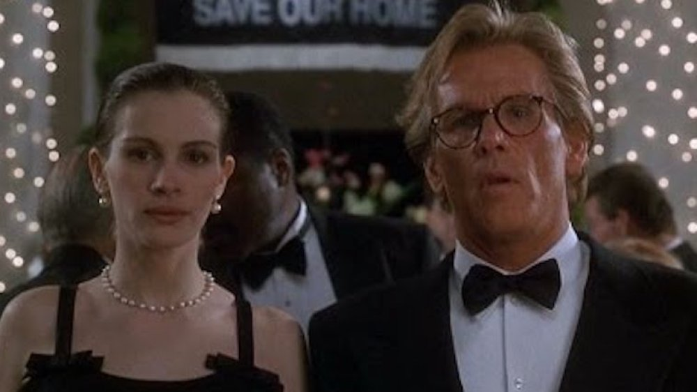 Julia Roberts and Nick Nolte in a scene from I Love Trouble