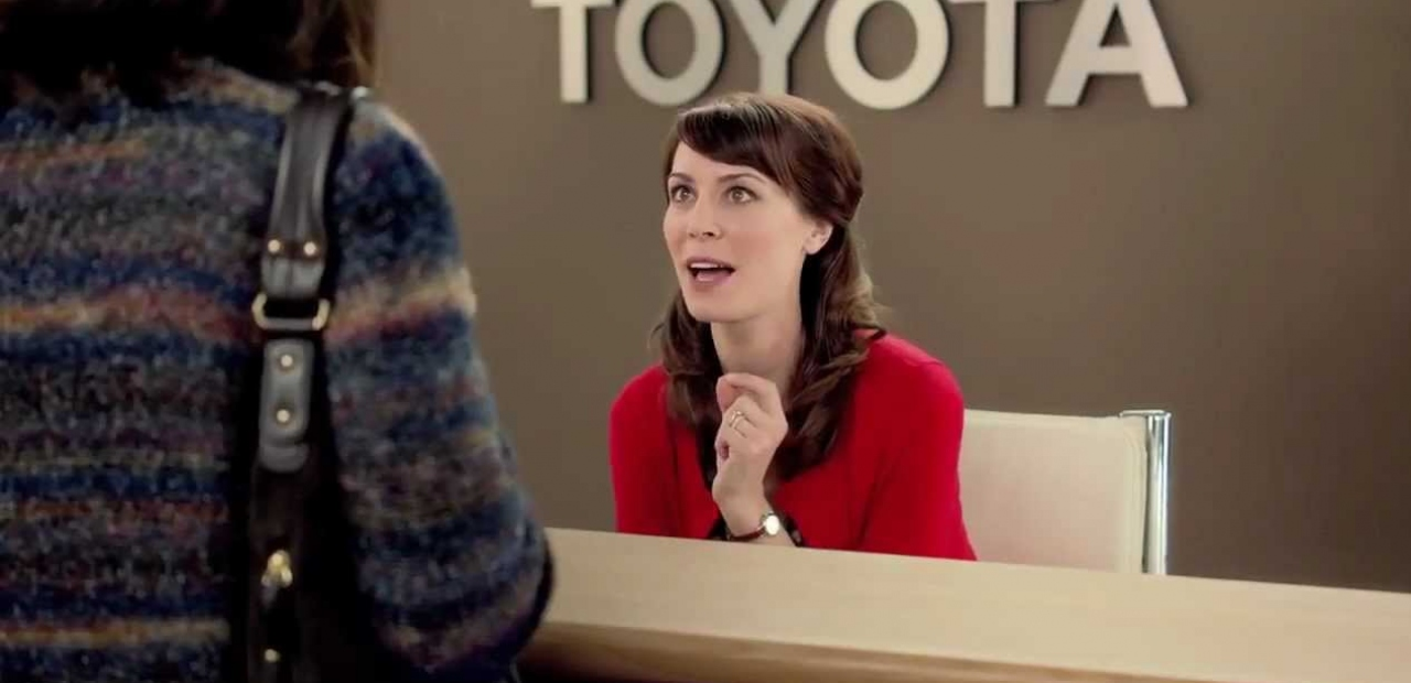 What You Didn T Know About The Toyota Commercial Lady