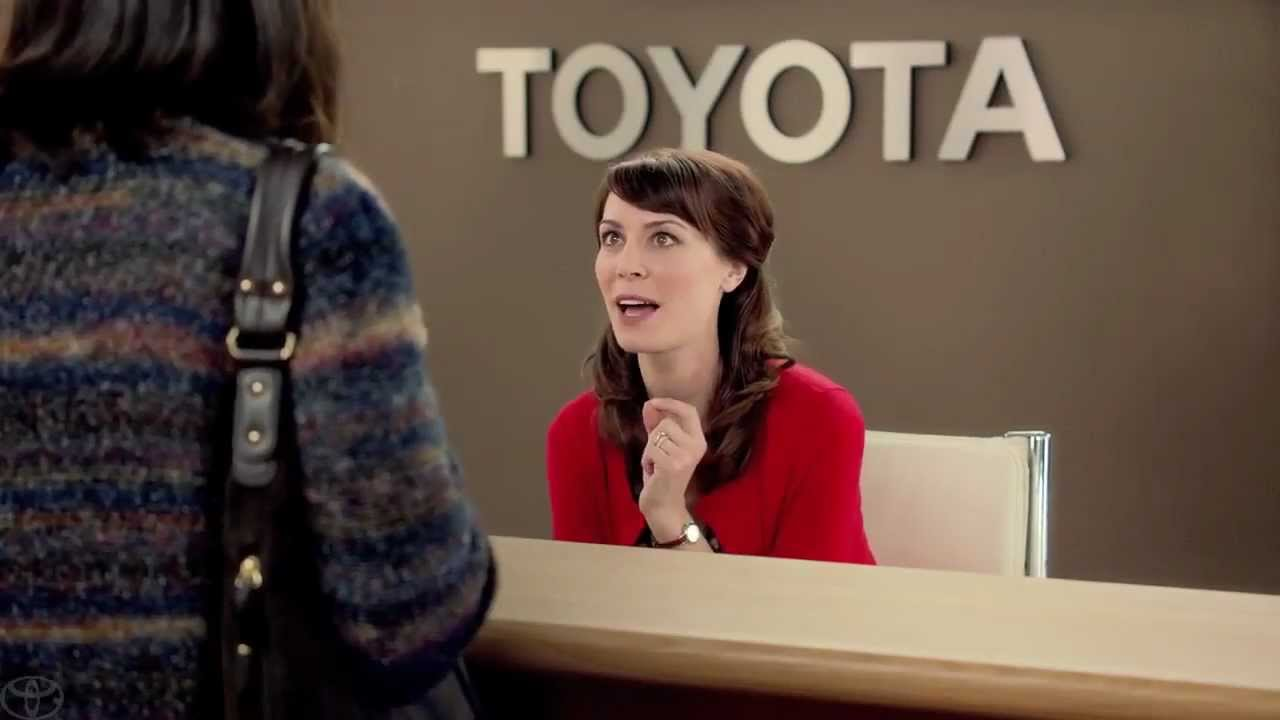 What You Didn't Know About The Toyota Commercial Lady