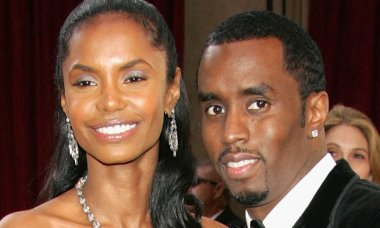 Diddy and Kim Porter