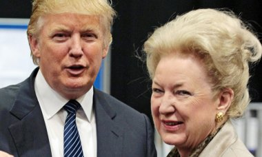Donald Trump and sister