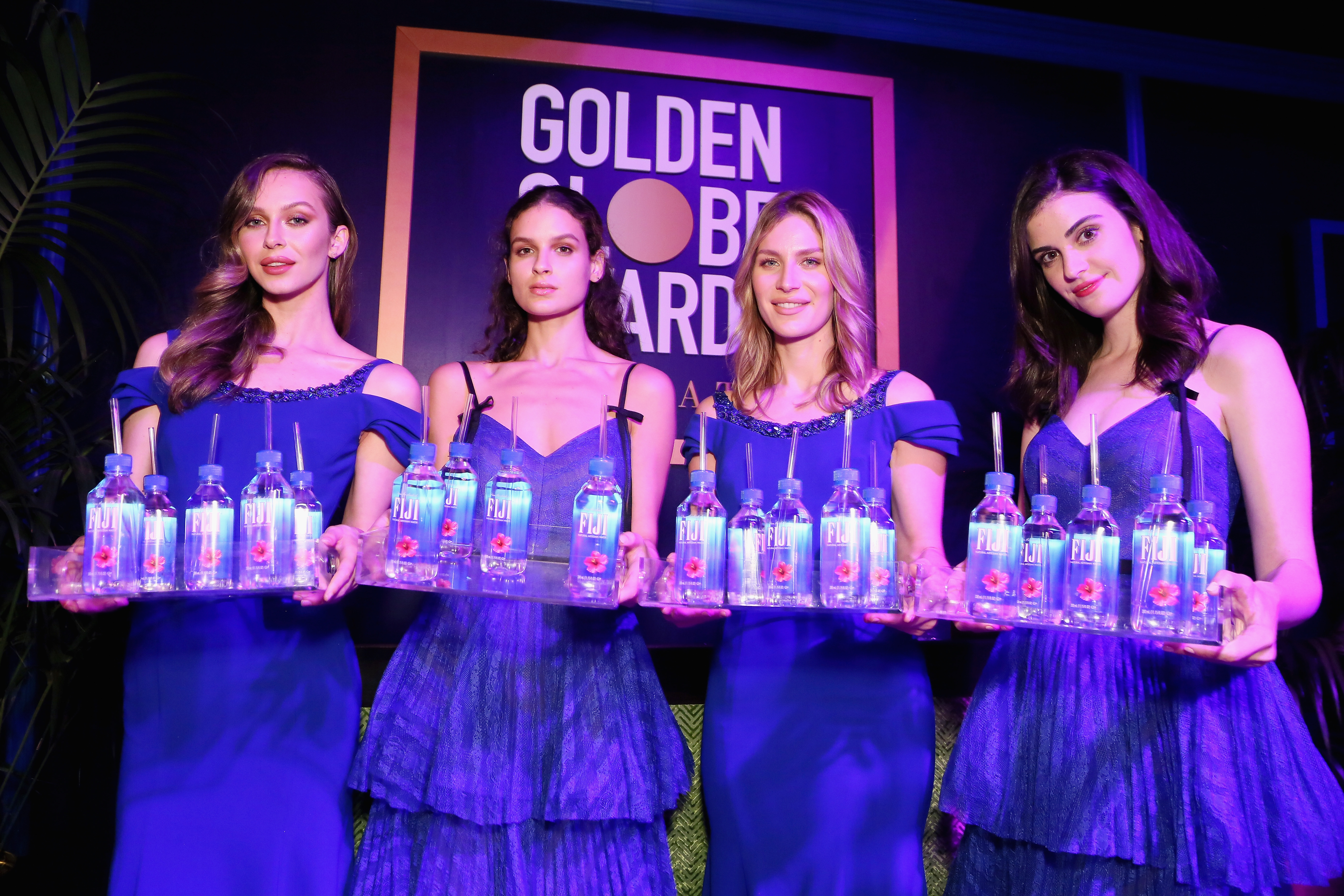 Fiji Water Girl Was The Real Winner At Golden Globes